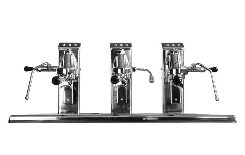Commercial Espresso Coffee Machine espressoDECK 3 group front 3