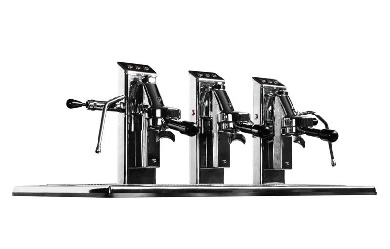 Commercial Espresso Coffee Machine espressoDECK 3 group side