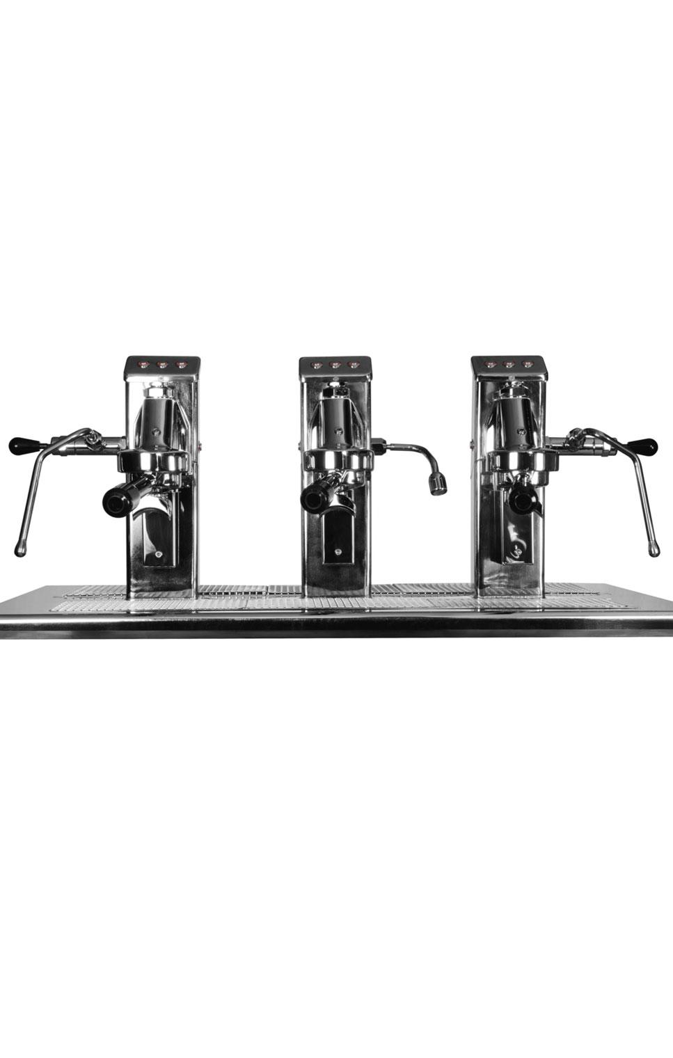 Commercial Espresso Coffee Machine espressoDECK 3 group front 2