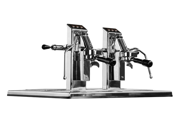 Commercial Espresso Coffee Machine espressoDECK 2 group side