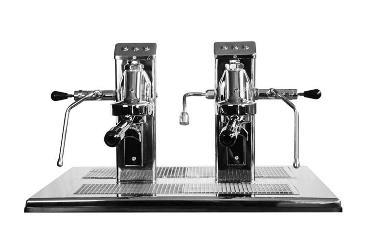 Commercial Espresso Coffee Machine espressoDECK 2 group front 3